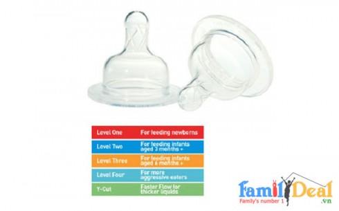 Set 02 Núm ty bình sữa Dr Brown's - Sản phẩm cho bé - Sản phẩm cho bé