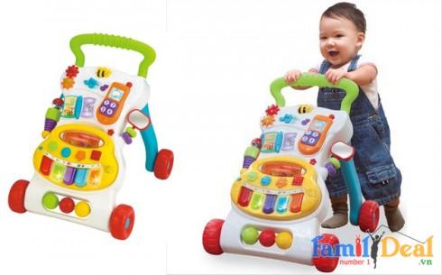 Xe tập đi có nhạc Winfun - Sản phẩm cho bé - Sản phẩm cho bé
