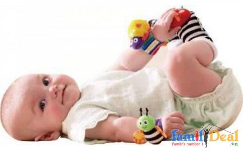 Lục Lạc Đeo Tay hoặc Đeo Chân Lamaze - Sản phẩm cho bé - Sản phẩm cho bé