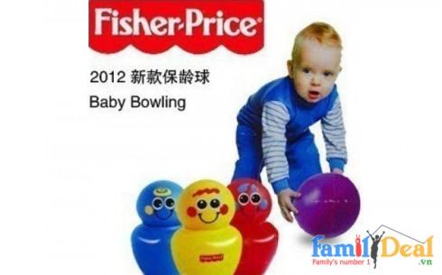 Đồ chơi Bowling Fisher Price - Sản phẩm cho bé - Sản phẩm cho bé