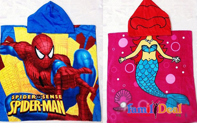 Family Deal - Khan tam spider man, hello kitty, disney
