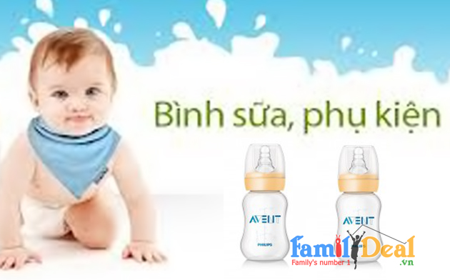 Family Deal - Binh sua co thuong Philips AVENT...