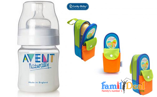 Family Deal - Tui giu am binh sua Luckybaby