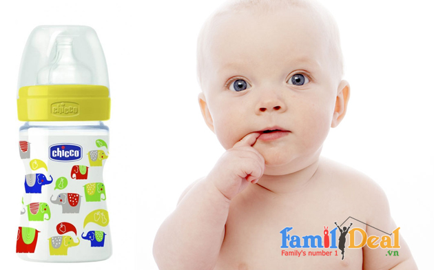 Family Deal - Binh sua Voi con num silicon 150ml