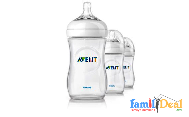Family Deal - Set 03 Binh Sua Co Rong Avent Natural