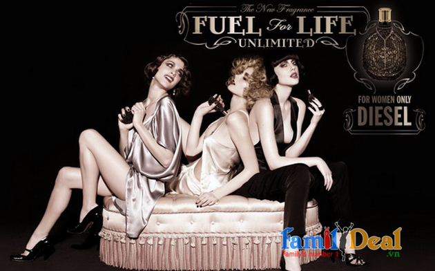 Family Deal - Nuoc hoa nu Diesel Fuel for Life...
