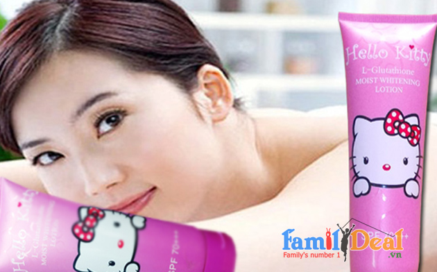 Family Deal - Kem trang da toan than HELLO KITTY