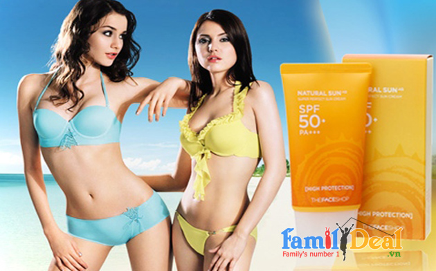 Family Deal - Kem chong nang The Face Shop SPF 50