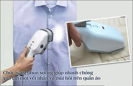 Family Deal - Ban ui hoi nuoc cam tay Steambrush