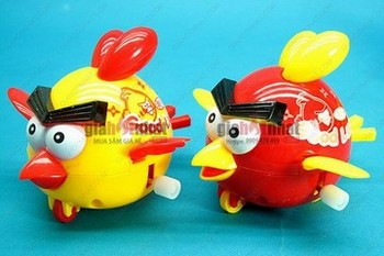 Giá Hot Nhất - COMBO 2 CHU CHIM ANGRYBIRD LEN DAY COT (MS : 9.060) Khong can su dung pin