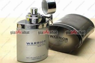Giá Hot Nhất - NUOC HOA NAM WARRIOR METAL 100ML (MS : 8.155) - huong thom manh me day nam tinh