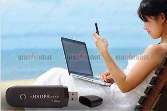 Giá Hot Nhất - USB 3G DUNG CHO 3 MANG : MOBI, VINA, VIETTEL (MS : 8.151)