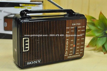 Giá Hot Nhất - RADIO DE BAN SIEU ANG TEN AM FM 220V (MS: 8099)
