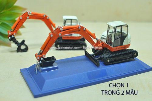 Giá Hot Nhất - MO HINH SAT1/50 15cm XE UI XUC DAT DA NANG - KDW - MS 9498
