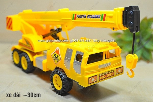 Giá Hot Nhất - XE CAU CONG TRINH CHAY TRON LOAI LON -( MS 9374)