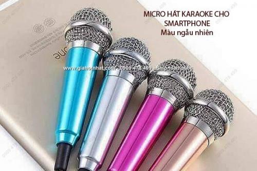 Giá Hot Nhất - MICRONHO HAT KARAOKE CHO SMARTPHONE CO CONG LOA (MS:8278)-