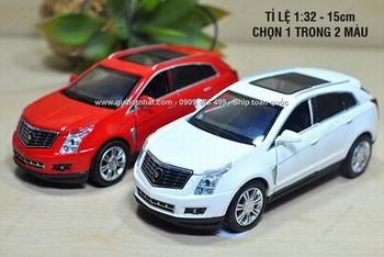 Giá Hot Nhất - XE MO HINH SAT 1/32 14CM SUV CADDILLAC SRX -( MS 9531)-