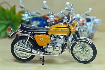 Giá Hot Nhất - XE MO HINH SAT 1/12 18CM XE MOTO CLASSIC CB750 DREAM (MS 9828 )-
