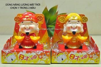 Giá Hot Nhất - THAN TAI MAY MAN NANG LUONG MAT TROI TAY CAM 2 THOI VANG