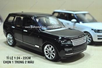 Giá Hot Nhất - MO HINH XE SAT 1 /24 22CM LAND RANGE ROVER - RASTAR - MS 9963 - Chon 1 trong 2 mau - xe co thiet ke nhu that voi nhung duong net