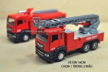 Giá Hot Nhất - MO HINH 1/32 XE CUU HOA CHUYEN DUNG 18CM - MINI AUTO (MS 9460)