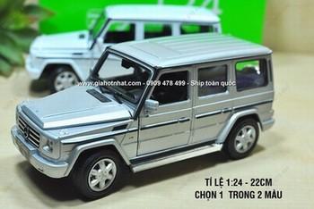 Giá Hot Nhất - MO HINH SAT 1/24 - 20CM XE MERCEDES SUV G55 WELLY FX - (MS 9970 )
