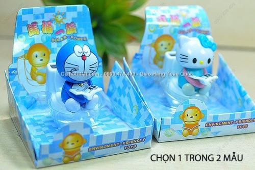 Giá Hot Nhất - CHU MEO DOREAMO KITTY LUC MAC NANG LUONG MAT TROI - (MS 9036 ) Hinh MEO KITTY nang luong mat troi dung de trang tri ban lam vie