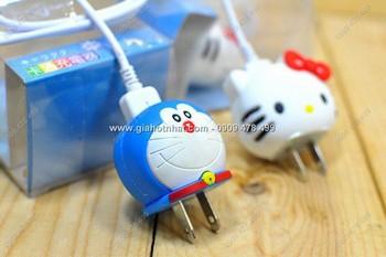 Giá Hot Nhất - COC SAC USB SILICON HOAT HINH NGO NGHINH (MS: 6554)