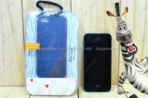 Giá Hot Nhất - OP LUNG CHO IPHONE 5/5S ZEBRA CHINH HANG (MS: 8256)