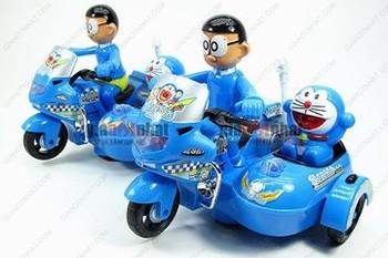 Giá Hot Nhất - DO CHOI XE MOTO NOBITA VA DOREMON (MS: 9186) ngo nghinh