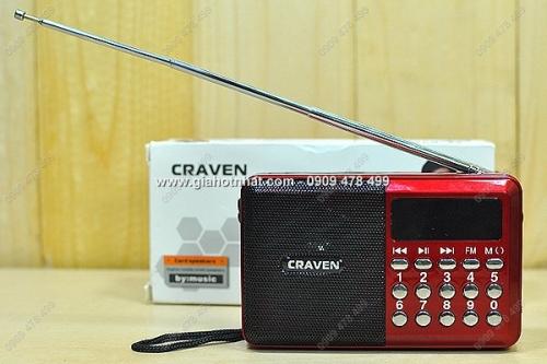 Giá Hot Nhất - LOA RADIO THE NHO FM CHINH HANG CRAVEN (MS: 8226)