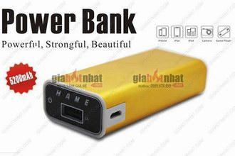 Giá Hot Nhất - PIN SAC DU PHONG CHINH HANG HAME 5200 mAh (MS: 8111)