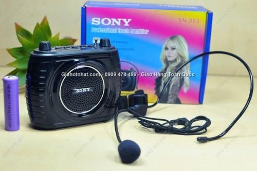 Giá Hot Nhất - LOA USB RADIO KEM MIC TRO GIANG 868 PIN SAC ROI (MS: 8225)