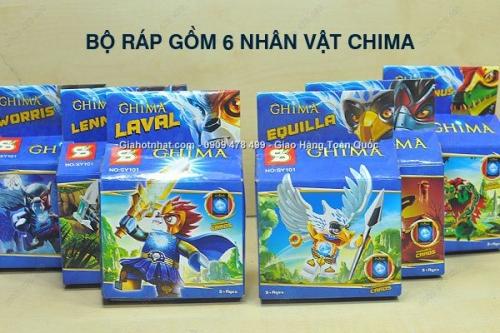 Giá Hot Nhất - COMBO 6 HOP RAP CHIMA SONG DONG - MS 9127