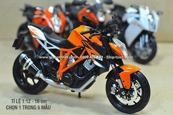 Giá Hot Nhất - MO HINH 1/12 (16cm) MOTO KTM SERIE (MS 9848)