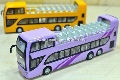 Giá Hot Nhất - MO HINH 1/45 XE BUS 2 TANG THAM QUAN DU LICH (MS: 9329)