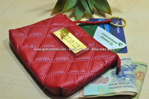 Giá Hot Nhất - VI DA CAM TAY CAO CAP RED HOLYWOOD CHO NU (MS: 3199)