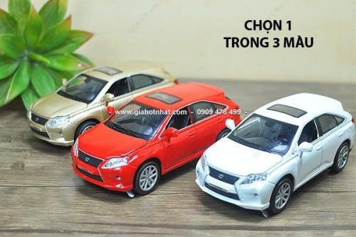 Giá Hot Nhất - XE MO HINH TI LE 1/32 LEXUS RX450 (9782)