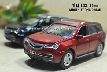 Giá Hot Nhất - XE MO HINH SAT 1/32 15CM SUV HONDA ACURA MDX - (MS 9716)-