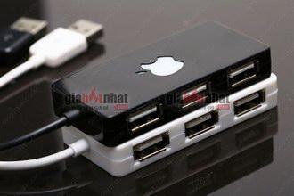Giá Hot Nhất - HUB USB 4 CONG PHONG CACH APPLE (Ma So 5073) - Cho Ban Thoai Mai Su Dung Duoc Nhieu Thiet Bi USB