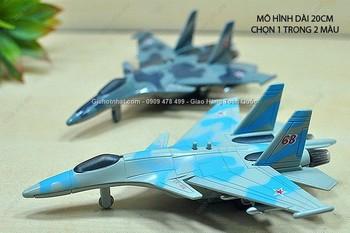 Giá Hot Nhất - MS: 9987 - MO HINH SAT MAY BAY CHIEN DAU SU37 - Chon 1 trong 3 mau