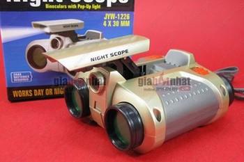Giá Hot Nhất - MS : 9146 - DO CHOI ONG NHOM NIGHT SCOPE - Co den pin co the nhin vao ban dem