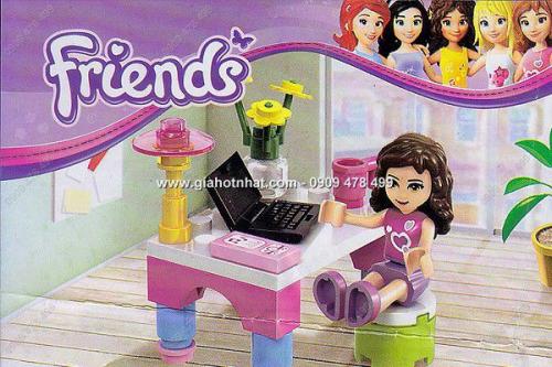 Giá Hot Nhất - MS: 9030 - BO RAP HINH FRIENDS BAN LAM VIEC EMMA