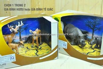 Giá Hot Nhất - MS: 9296 - DO CHOI THE GIOI DONG VAT GIA DINH HUOU hoac GIA DINH TE GIAC
