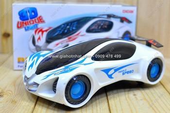 Giá Hot Nhất - MS: 9190 - XE DEN 3D CHAY PIN KIEU DANG TUONG LAI