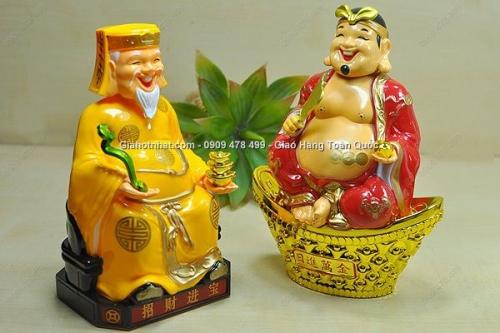 Giá Hot Nhất - MS: 6575 - BO 2 THAN TAI , ONG DIA NANG LUONG MAT TROI