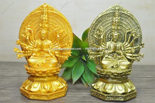 MS: 6468 - TƯỢNG BỒ TÁT THIÊN THỦ THIÊN NHÃN ( Phật Nghìn Tay Nghìn Mắt - sắc xảo, sống động và chi tiết -