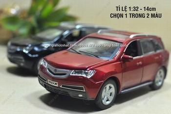 Giá Hot Nhất - MS: 9716 - XE MO HINH SAT 1/32 15CM SUV HONDA ACURA MDX