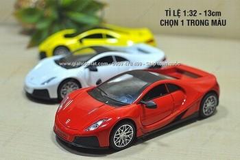 Giá Hot Nhất - MS: 9851 - XE MO HINH SAT 1/32 14CM SIEU XE SPANO GTA
