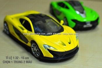 Giá Hot Nhất - MS: 9803 - XE MO HINH 1/32 KIEU DANG MCLAREN P1 - Chon 1 trong 3 mau